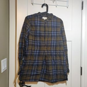 Golden by TNA Plaid Sweater Top